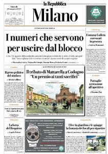 la Repubblica Milano - 28 Maggio 2020