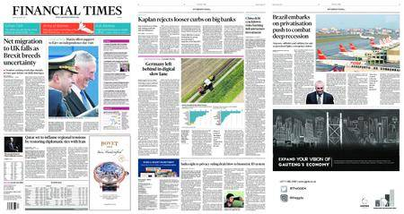 Financial Times Europe – August 25, 2017