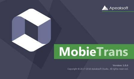 Apeaksoft MobieTrans 2.0.8