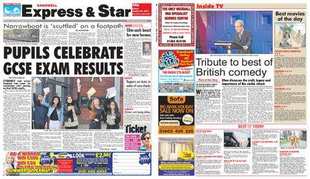 Express and Star Sandwell Edition – August 25, 2017