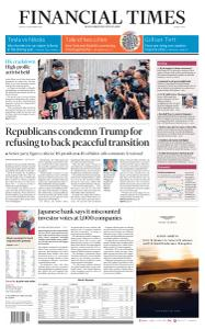 Financial Times Middle East - September 25, 2020