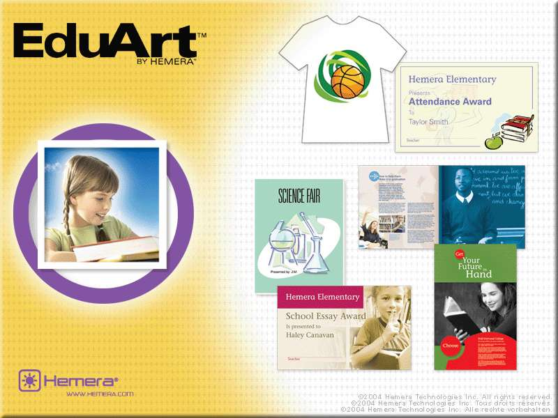 Hemera EduArt 56,000 image for Educator and Student by themes