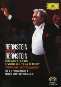 Bernstein Conducts Bernstein: Divertimento; Serenade; Symphony No. 2 'The Age of Anxiety' (2008/1984/1986)