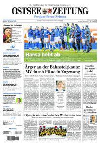 Ostsee Zeitung Wolgast - 26. Februar 2018