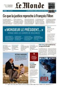 Le Monde du Dimanche 13 et Lundi 14 Janvier 2019