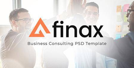ThemeForest - Finax | Business Consulting PSD Template 22325161