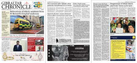 Gibraltar Chronicle – 25 March 2020