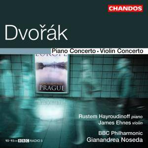 BBC Philharmonic, Gianandrea Noseda - Dvořák: Piano & Violin Concertos (2009) [Official Digital Download 24/96]