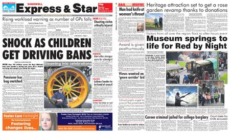 Express and Star Sandwell Edition – May 20, 2019