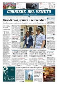 Corriere del Veneto Vicenza e Bassano – 15 giugno 2019