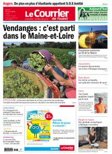 Le Courrier de l'Ouest Angers – 25 août 2020