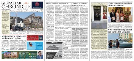 Gibraltar Chronicle – 06 August 2019