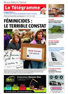 Le Télégramme Brest Abers Iroise – 18 novembre 2019