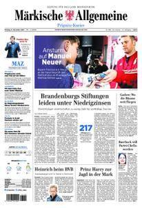 Märkische Allgemeine Prignitz Kurier - 11. Dezember 2017