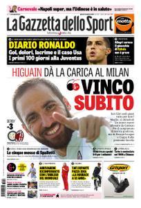 La Gazzetta dello Sport Roma – 18 ottobre 2018