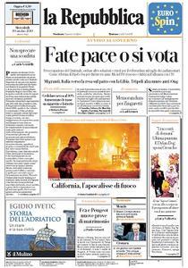 la Repubblica - 30 Ottobre 2019