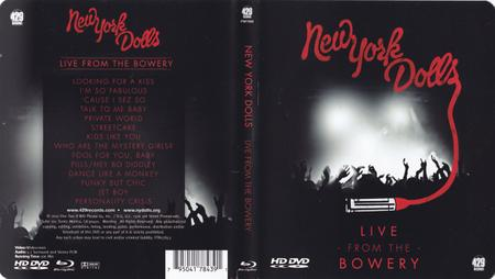 New York Dolls - Live From The Bowery (2012) [Blu-ray, 1080i]