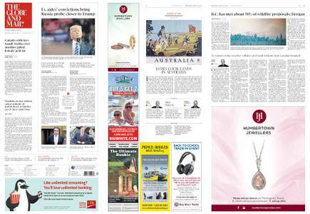 The Globe and Mail – August 22, 2018
