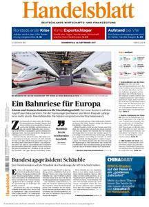 Handelsblatt - 28. September 2017