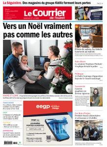 Le Courrier de l'Ouest Angers – 08 décembre 2020
