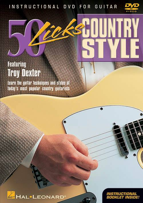 Hal Leonard - 50 Licks Country Style