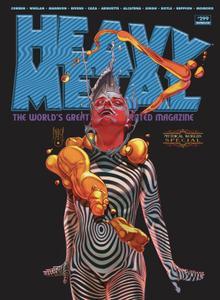 Heavy Metal 299 2020 3 covers Digital Mephisto