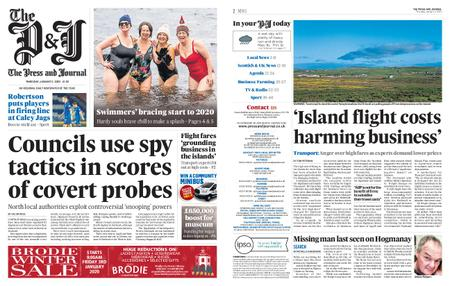 The Press and Journal Moray – January 02, 2020