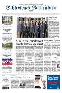 Schleswiger Nachrichten - 29. September 2017