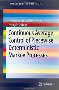 Continuous Average Control of Piecewise Deterministic Markov Processes [Repost]