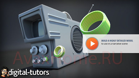 Digital-Tutors - Quick Start to Modeling in 3ds Max: Volume 4