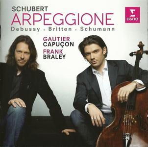 Gautier Capuçon, Frank Braley - Schubert, Schumann, Debussy, Britten: Works for Cello and Piano (2013) (Repost)
