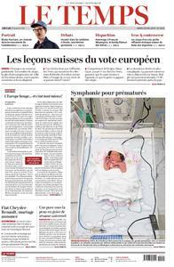 Le Temps - 28 mai 2019