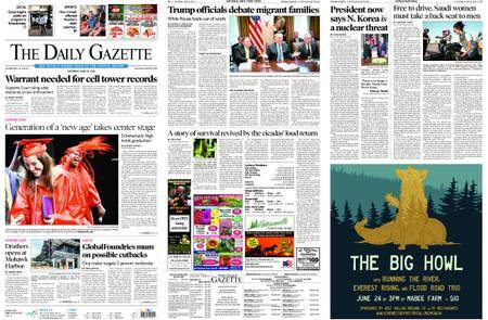 The Daily Gazette – June 23, 2018