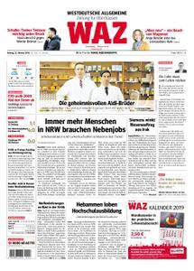 WAZ Westdeutsche Allgemeine Zeitung Oberhausen-Sterkrade - 22. Oktober 2018