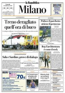 la Repubblica Milano - 14 Febbraio 2020