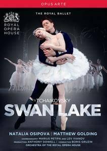 Boris Gruzin, Orchestra of the Royal Opera House, Natalia Osipova, Matthew Golding - Tchaikovsky: Swan lake (2015)