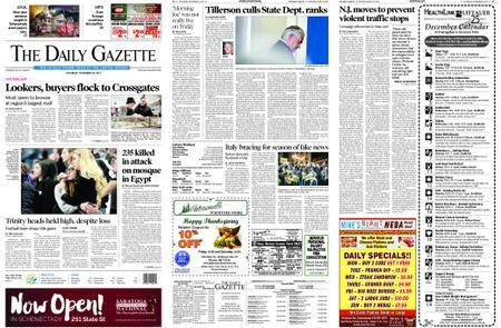 The Daily Gazette – November 25, 2017