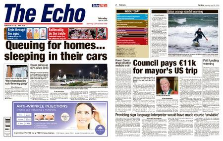 Evening Echo – April 15, 2019