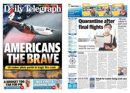 The Daily Telegraph (Sydney) – January 24, 2020