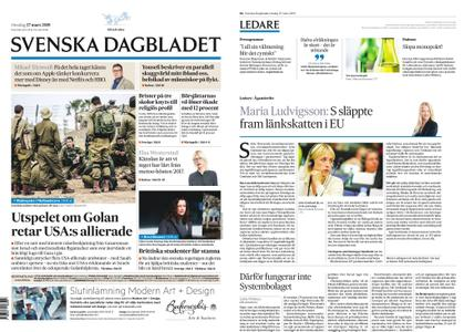 Svenska Dagbladet – 27 mars 2019
