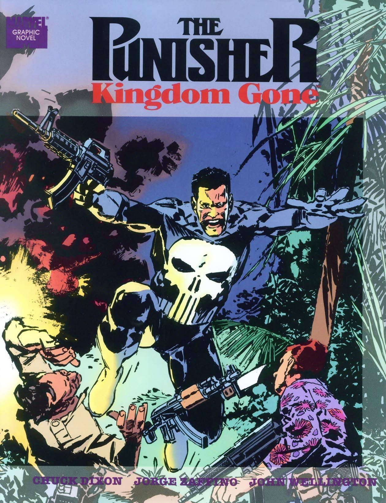 Marvel Graphic Novel 64 - The Punisher - Kingdom Gone 1990