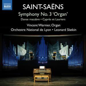 Leonard Slatkin - Saint-Saëns - Symphony No. 3 'Organ Symphony' (2015) [Official Digital Download 24/96]
