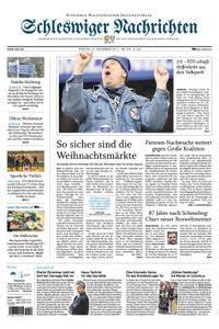 Schleswiger Nachrichten - 27. November 2017