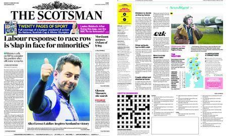 The Scotsman – February 12, 2018