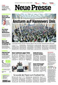 Neue Presse – 15. Oktober 2019