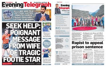 Evening Telegraph First Edition – June 24, 2019