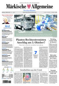 Märkische Allgemeine Westhavelländer - 02. Oktober 2018