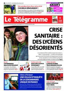 Le Télégramme Ouest Cornouaille – 14 décembre 2020