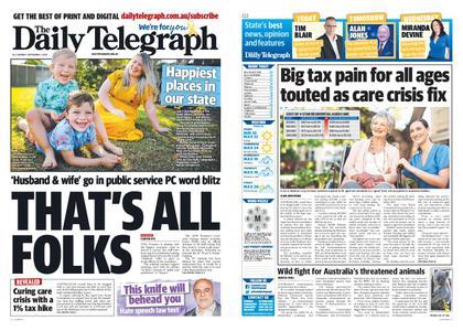 The Daily Telegraph (Sydney) – September 07, 2020