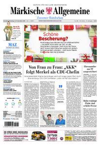 Märkische Allgemeine Zossener Rundschau - 08. Dezember 2018